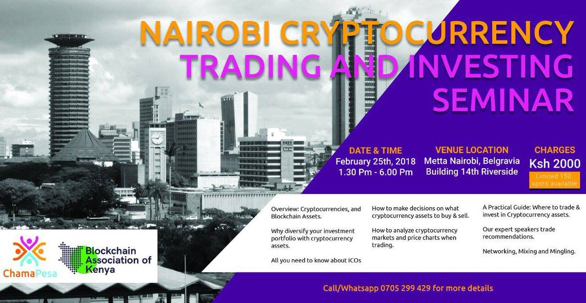 Blockchain Association of Kenya Organises Crypto Trading