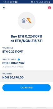 Buy ETH with NGN