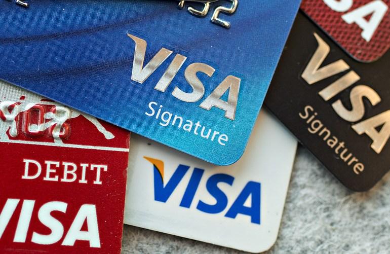 visa / criptomoedas / pagamento