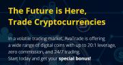 Trade Bitcoin Online genom Avatrade Regulated Broker
