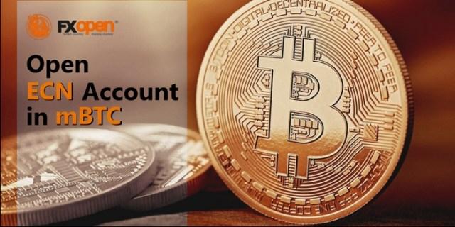 FXopen Bitcoin Trading