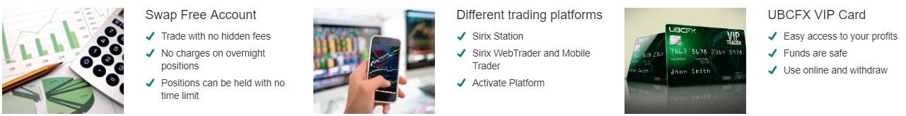 UBCFX Features