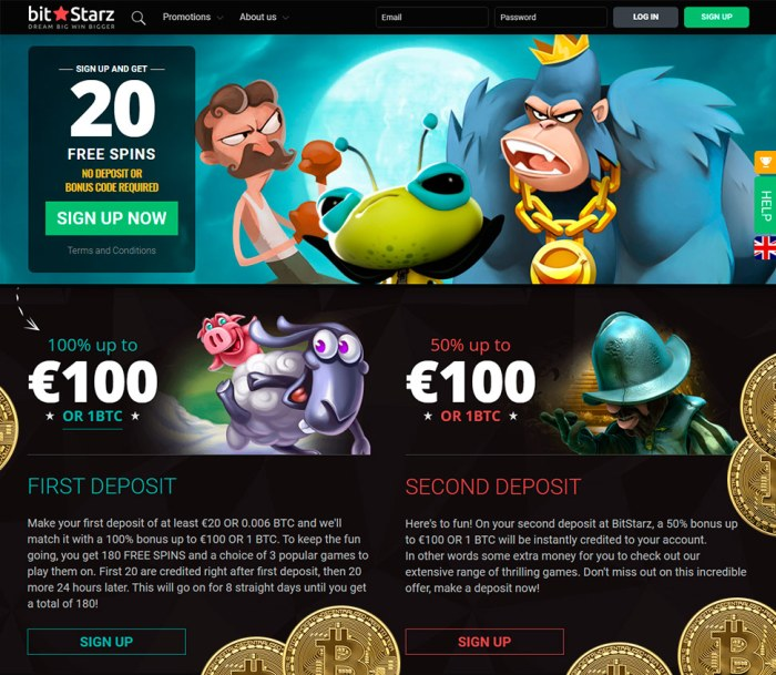 Bitcoin casino games odds
