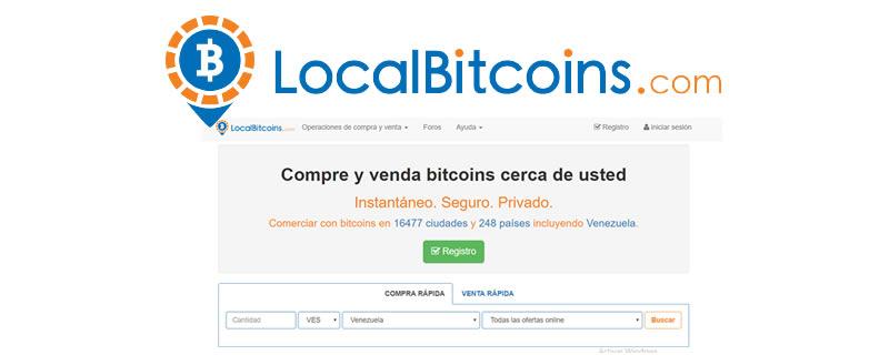 Cómo comprar bitcoins con LocalBitcoins en Venezuela