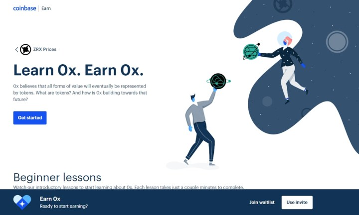 Aprende y gana Criptomonedas con Coinbase Earn - Bitcoineado