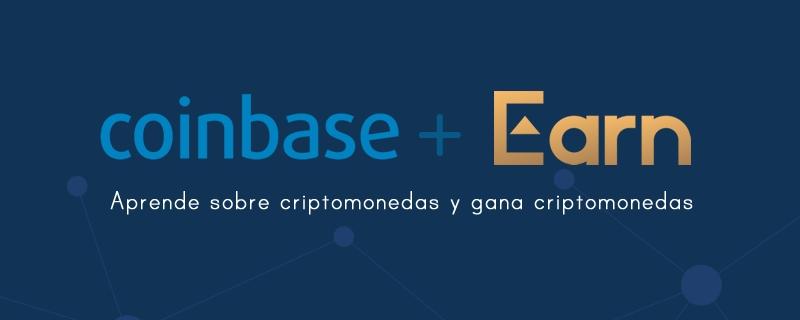 Aprende y gana Criptomonedas con Coinbase Earn