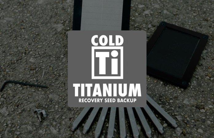 Titanium CryptoCurrency Seed Storage