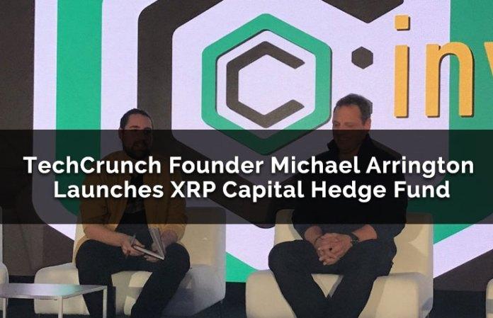 TechCrunch Founder Michael Arrington Launches XRP Capital Hedge Fund