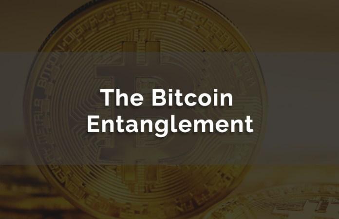 Bitcoin Entanglement