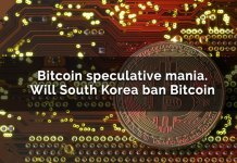 Bitcoin Speculative Mania. Will South Korea Ban Bitcoin?