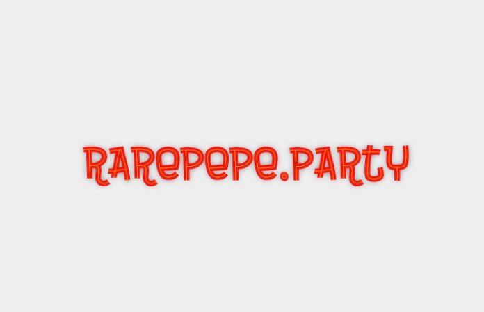 Rare Pepe party