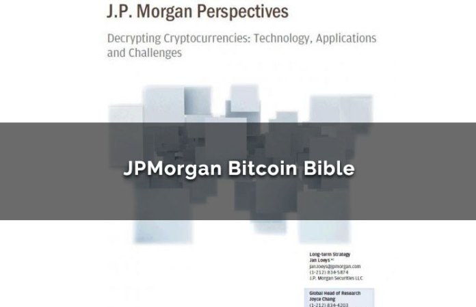 JPMorgan Bitcoin Bible