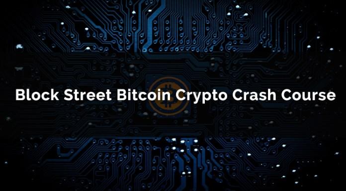 Block Street Bitcoin Crypto Crash Course