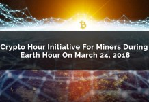 Crypto Hour Initiative For Miners During Earth Hour On March 24, 2018