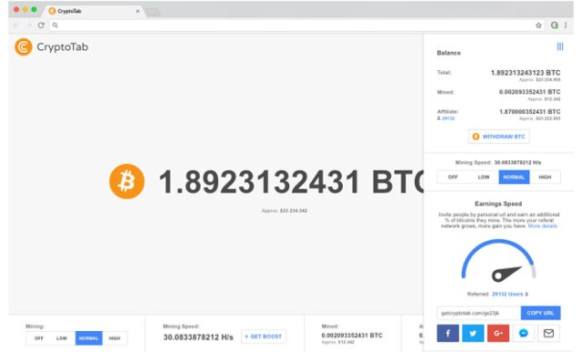 Earn Bitcoins By Using Cryptotab Extension On Chrome Reviews By Nyahela