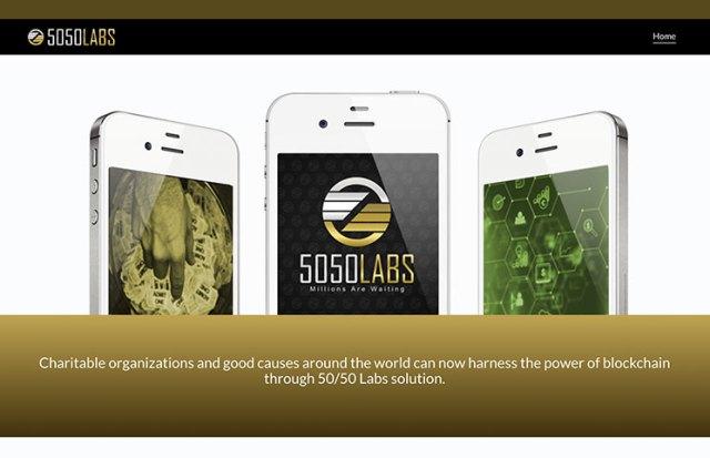 5050labs homepage