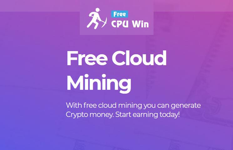 cpu win cloud mining