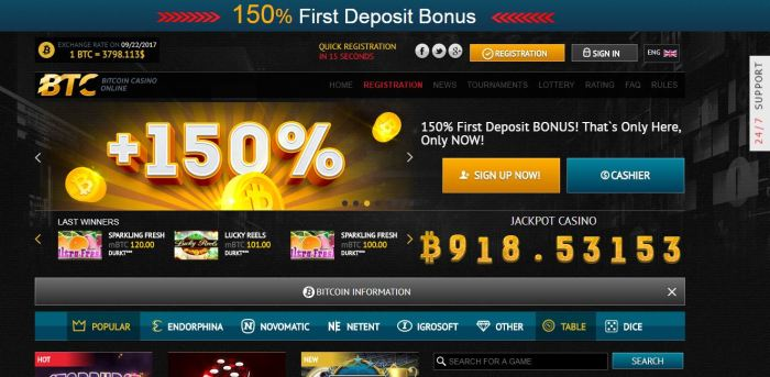 Casinos games online free play