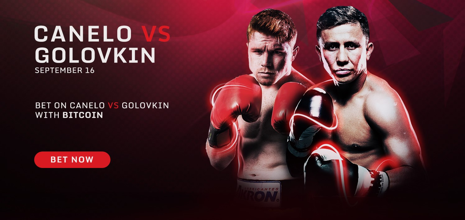 Bet on Canelo v Golovkin at BetKing