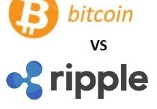 Bitcoin vs ripple Handelsdiagramm