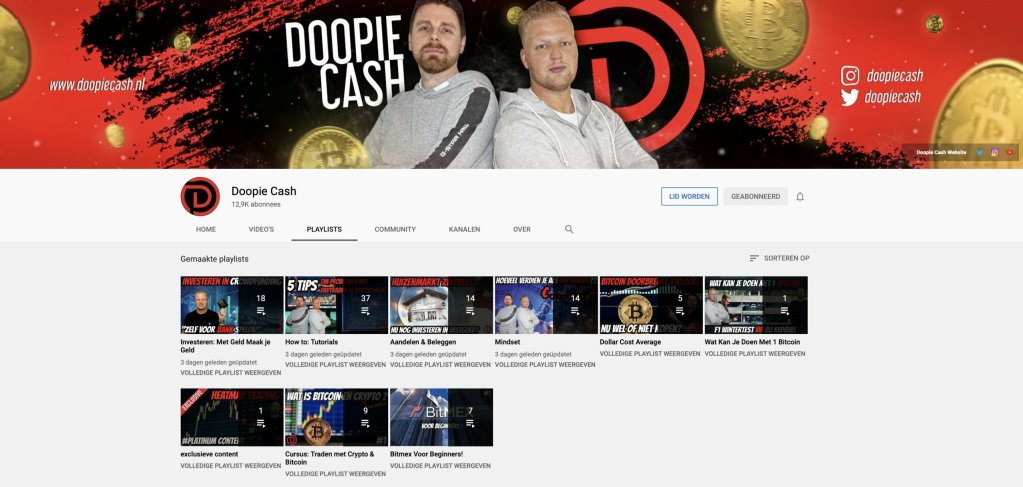 Doopie Cash Youtube