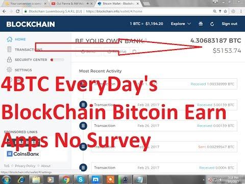 BlockChain Bitcoin Earn Apps Bitsler Script No Bitcoin Adder PayPal