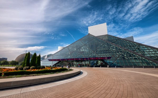 Rock And Roll Hall Of Fame Holds World Largest Public