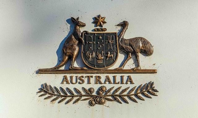 Australia coat of amrs