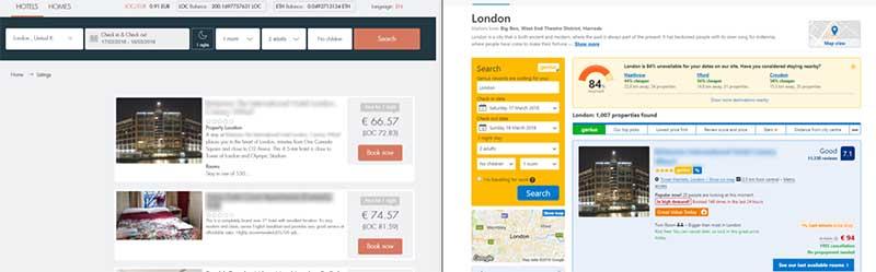 LockChain's price 66 EUR vs competitor price 94 EUR (30% cheaper).