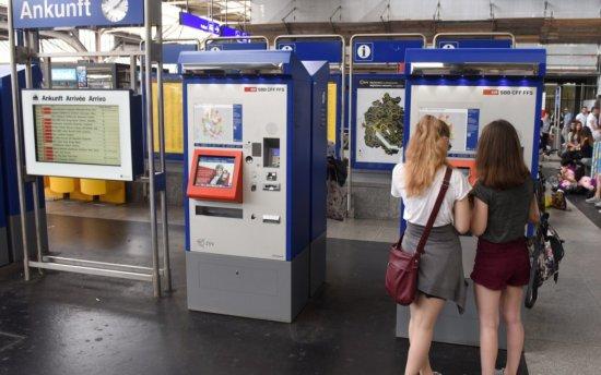 Switzerland kiosk ATM