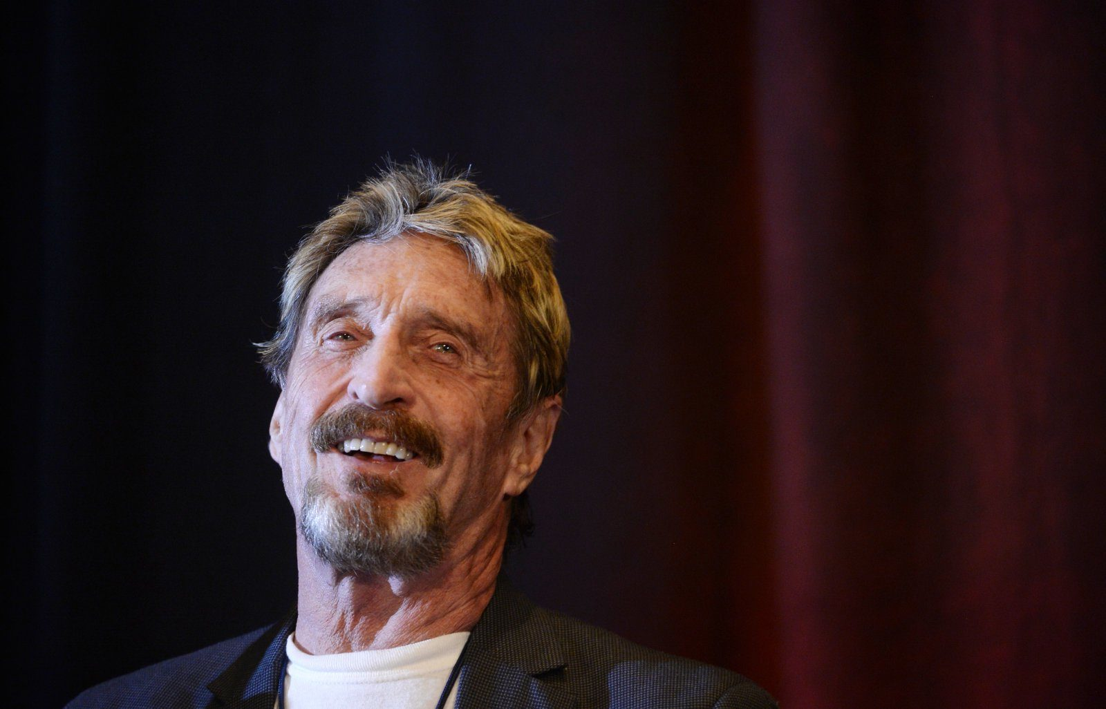 bitcoin presidential candidate mcafee
