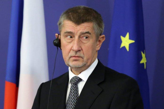 Czech Primi Minister Andrej Babis