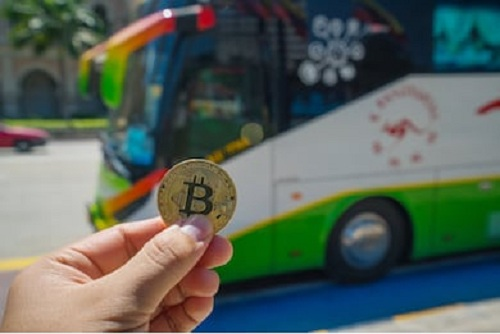 Bitcoin payment for bus