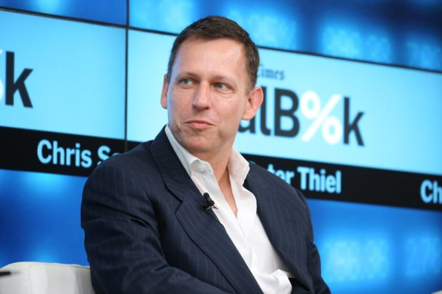 Peter Thiel Big Payday from Cryptocurrency Startup Block.one