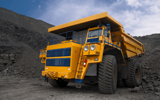 big truck bitcoin mining