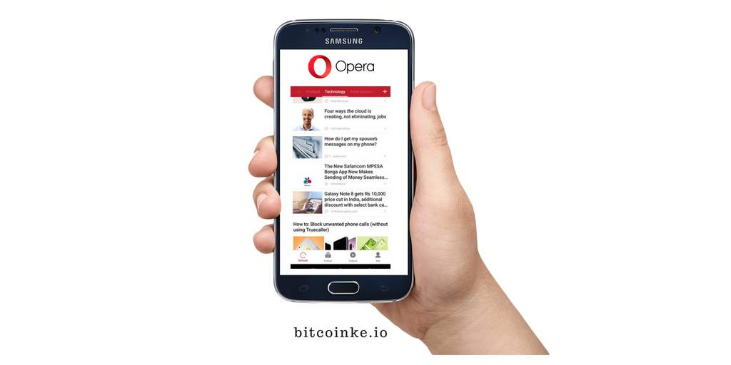 Opera is Building a Browser-based Crypto Wallet to Reach its