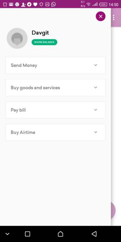 The New Safaricom MPESA Bonga App Now Makes Sending of Money