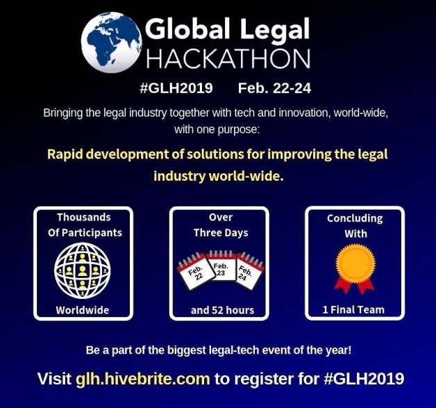 Lawyers Hub Kenya Hosting the Global Legal Hackathon 2019 in