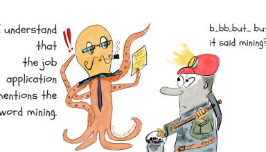 bitcoin mining cartoon bitcoinnews