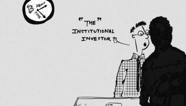 institutional investors in crypto cartoon bitcoinnews