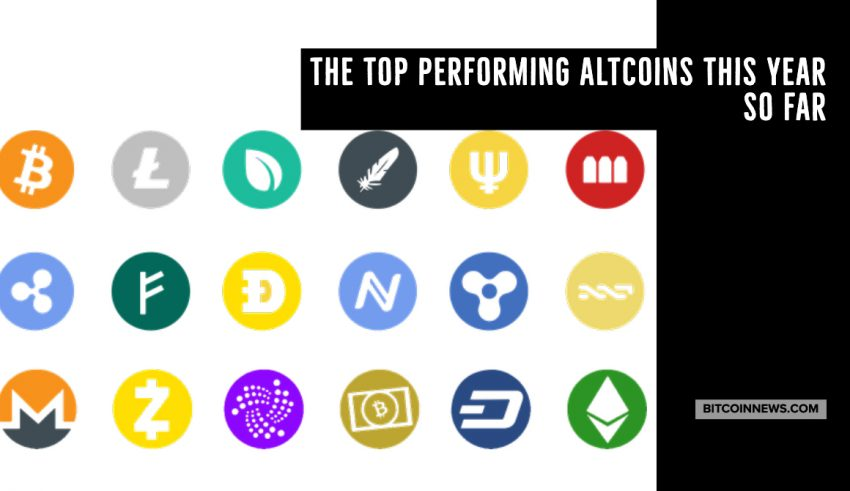 The Top Performing Altcoins This Year so Far