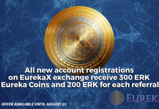 The Eureka Network to Launch Upgraded High-Liquidity Exchange and 300ERK Sign-up Bonus