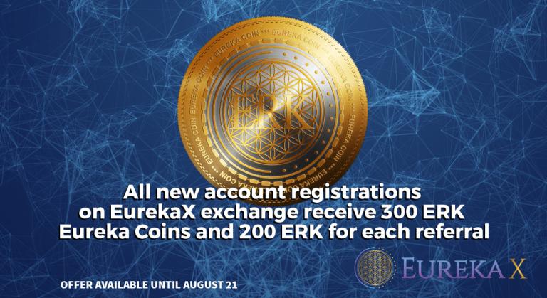 PR: The Eureka Network to Launch Upgraded High-Liquidity Exchange and 300ERK Sign-up Bonus