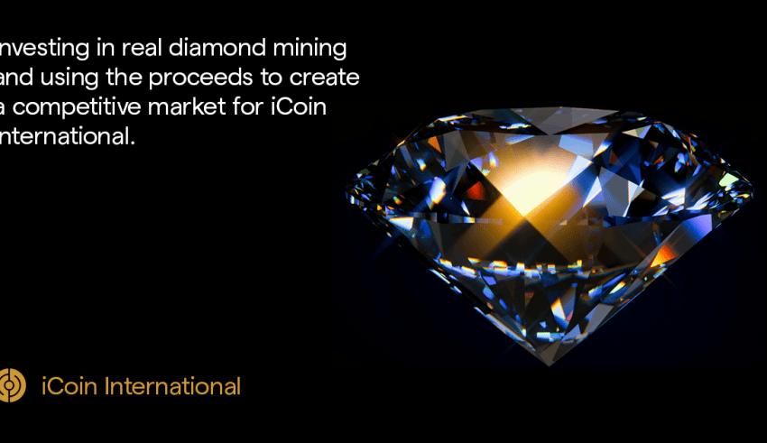iCoin International Taking Blockchain and AI to Real Diamond Mining