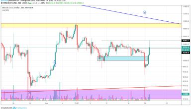 Bitcoin Technical Market Analysis 20th September 2019
