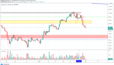 Bitcoin Price and Technical Market Analysis March 1st, 2020