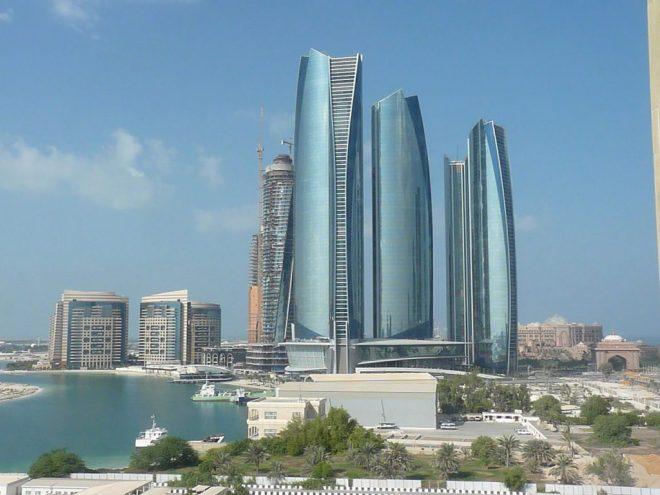 EtihadTowers, _Abu_Dhabi, _ Ripplenet dehnt sich in den Nahen Osten aus