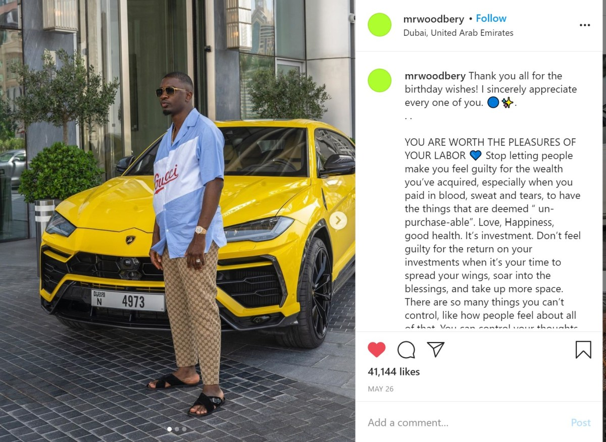 Ponle's Instagram post. Source: Instagram