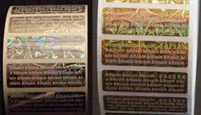 Bitcoin Paper Wallet Generator Print Offline Tamper