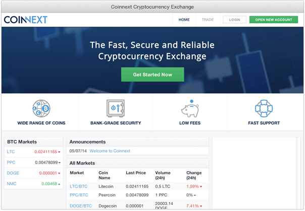 coinnext screenshot
